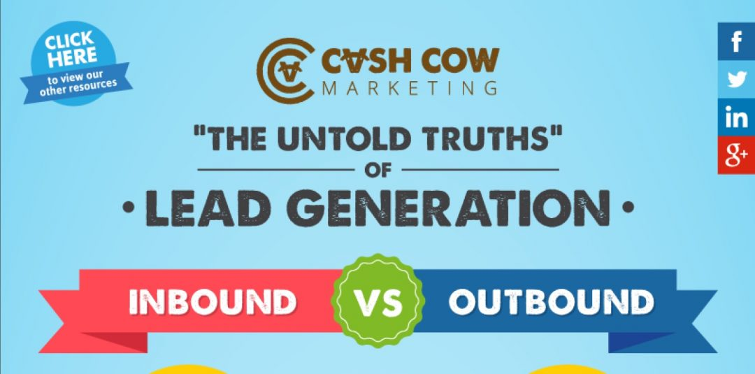 "Lead Generation ""The untold Truths"" Inbound vs Outbound"